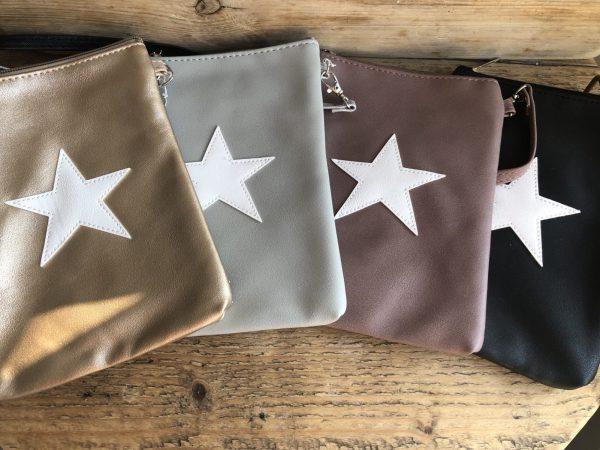 a4cabe6a3fb Hippe tas met ster in 4 verschillende kleuren | Stars&Joy Groningen